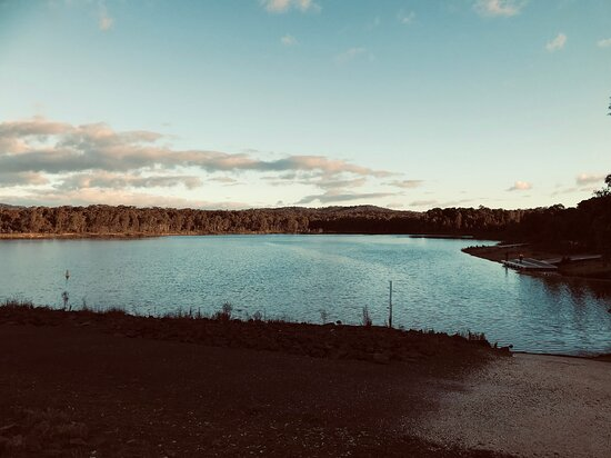 Kangaroo Flat, أستراليا: Crusoe Reservoir 