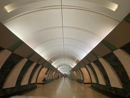 Metro Station Marina Roshha