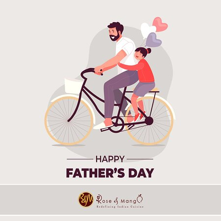 How about Father's Day lunch with us. Yes, we are open Please book online or call on 01638663300. Thanks WEB : https://roseandmango.com/ Order Online :- https://www.roseandmangonewmarket.co.uk/menu.aspx #newmarket #suffolk #indian #curry