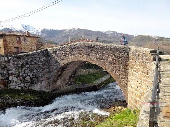 Río Arlanzón a su paso por Pineda de la Sierra