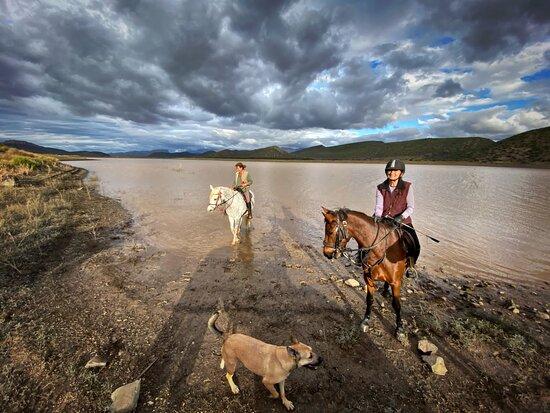 De Rust, South Africa: The Stompdrift Dam Outride
