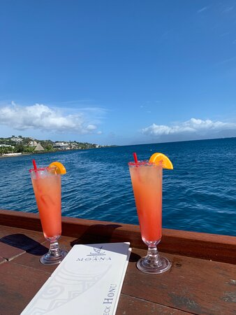 Perfectly blended drinks with magnificent views