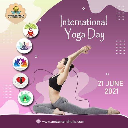 Andaman and Nicobar Islands, India: Embrace yoga, Travel cheerful and feel the difference with 𝗔𝗻𝗱𝗮𝗺𝗮𝗻 𝗦𝗵𝗲𝗹𝗹𝘀! Wishing you a lifetime of wellness and goodness on the occasion of Yoga Day! Happy International Yoga Day!  #yoga #fitness #meditation #yogapractice #love #yogainspiration #yogalife #yogaeverydamnday #mindfulness #yogi #yogateacher #yogalove #motivation #yogaeveryday #workout #pilates #namaste #gym #health #wellness #yogagirl #nature #yogaeverywhere #healthylifestyle #yogachallenge #peace #healing #fitness