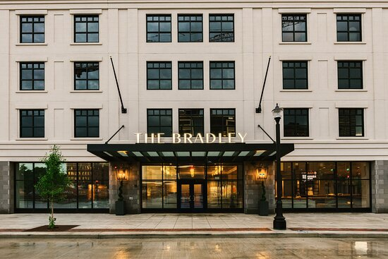 The Bradley hotel in downtown Fort Wayne, Indiana.