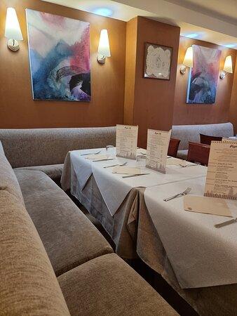 La Fortunada, Ισπανία: Restaurante muy acogedor
