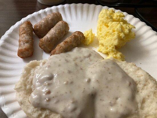 Hot breakfast !!!