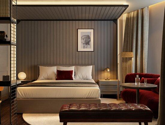 Guest room - Εικόνα του Canopy by Hilton Madrid Castellana, Μαδρίτη - Tripadvisor