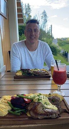 Ulefoss, Noorwegen: Nydelig mat og flott service!