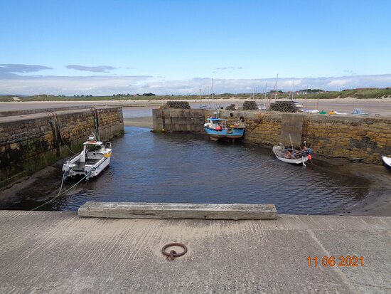 Beadnell Harbour and Lime Kilns