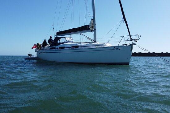"The yacht ""Zara"" - Picture of Nauti Yacht Charters, Weymouth - Tripadvisor"