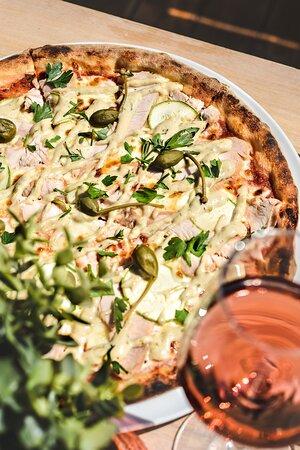 Pizza con Tachino