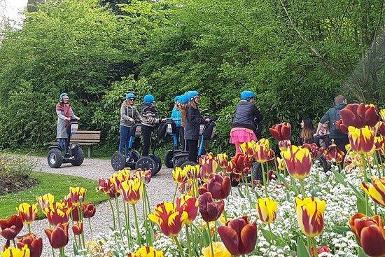 Promenade en gyropode dans le Jardin Public de Saint-Omer