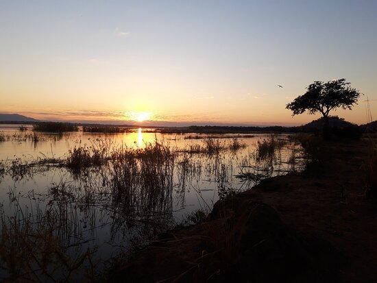 Chirundu, زامبيا: View from camp night 1 