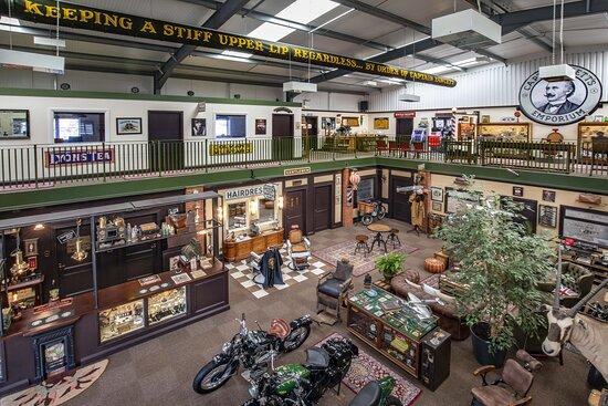 Captain Fawcett's Marvellous Barbershop Museum