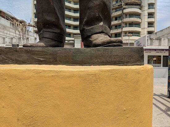 Estatua de Lázaro Cárdenas