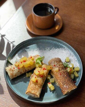 Задайте себе прекрасное настроение с самого утра нашими замечательными завтраками, которые мы готовим для вас с любовью ежедневно с 10:00 до 12:00!