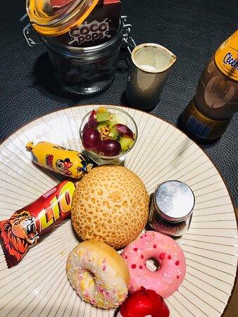 Ingelmunster, België: Tijger ontbijt voor de allerkleinsten.