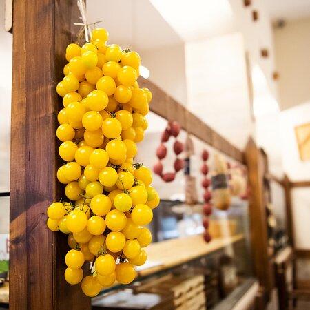 Il pomodoro giallo in serta