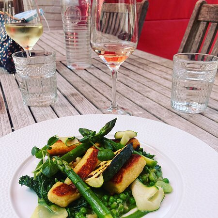 Gorgeous summer lunch
