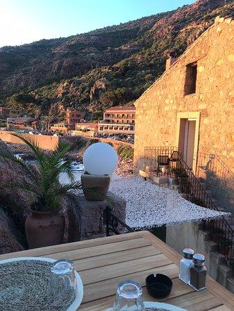 Sehr schöne Terrasse