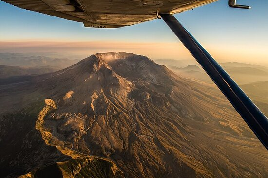 Private Air Tour of Mount Saint Helens from Troutdale