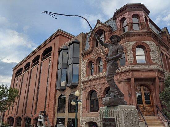 Bullwhacker Statue