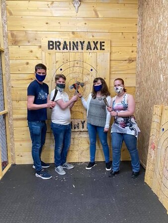 Axe-citing day out - go for the 3 activity experience!