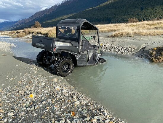 Glenorchy, نيوزيلندا: Feet stayed dry, Thanks Andy