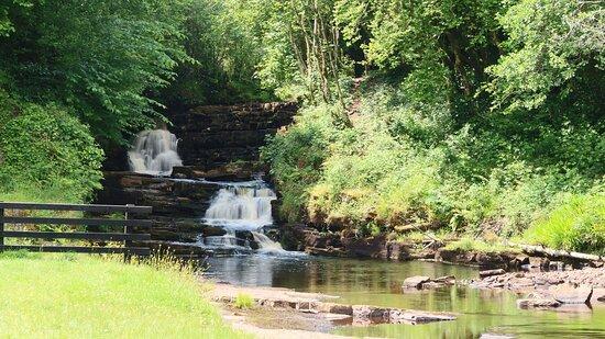 County Leitrim, Ireland:  Poll an Easa Waterfall