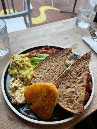 Best vegan cooked breakfast I've had in Brighton!