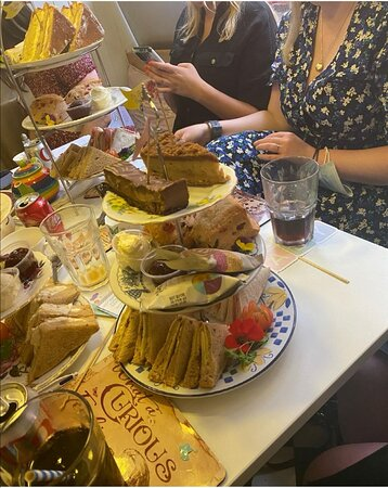 Great afternoon tea!