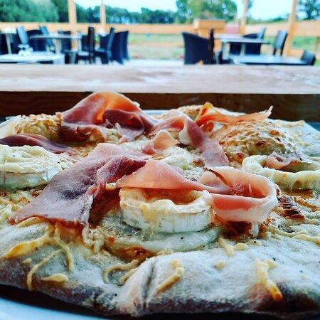 Pizza Chèvre miel, Prizuttu de San Lorenzu
