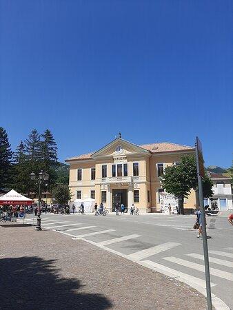 Il municipio appena ristrutturato GIUGNO 2021