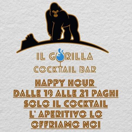 Il Gorilla cocktail bar