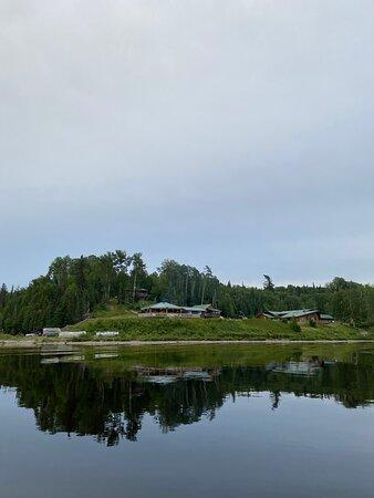 Lake view of Camp Anjigami