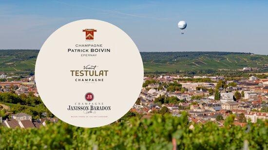 Épernay, France : 3 Domaines d'Epernay s'associent pour vous faire découvrir la typicité des champagnes du terroir Sparnacien.