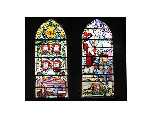 Vitraux de l'Eglise Notre Dame de l'Assomption