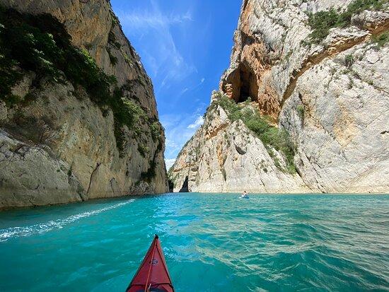 Kayaking Mont Rebei