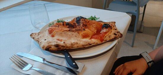 Pizza con frutti di mare, fantastica