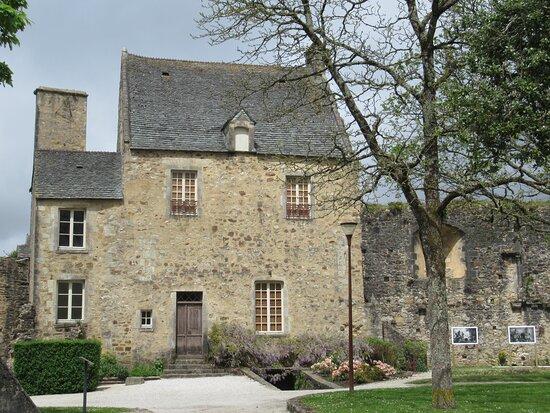 Bricquebec-en-Cotentin, Fransa: château de Bricquebec