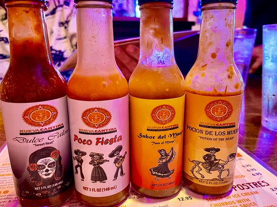 Housemade Hot Sauces