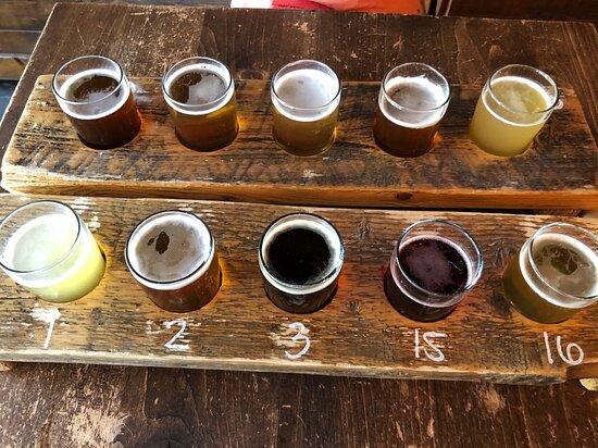Les palettes de bières et leurs numéros