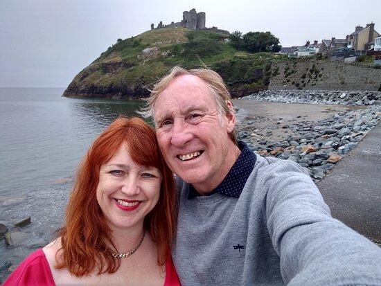 Amazing landmark on the coastline
