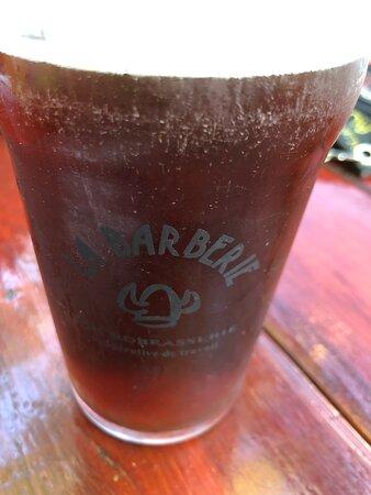Bière Walker de la microbrasserie  St-Pancrace,