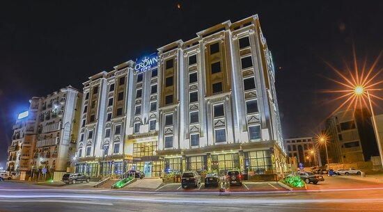 Exterior View By Night_TOP Crown Town Hotel Jeddah