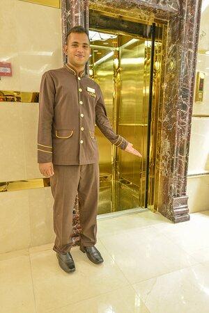Elevator_TOP Crown Town Hotel Jeddah