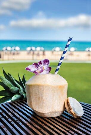 Thai Coconut Cocktail at The Surf Break