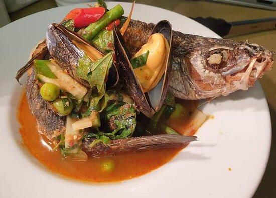 Jungle Curry Sea Bass