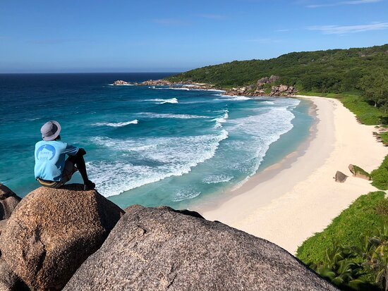 Hiking Tours on La Digue island, Seychelles with Sunny Trail Guide.