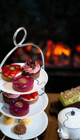 Afternoon Tea at The Parlour in collaboration with Floris London